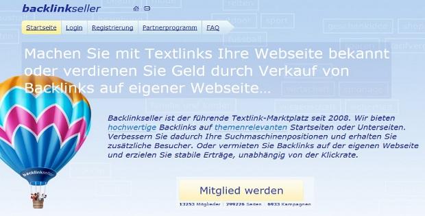 Backlinkseller: Geld verdienen mit Backlinks