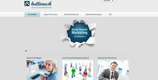 Hallimash – Geld verdienen mit  Blog-Marketing