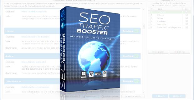SEO Traffic Booster