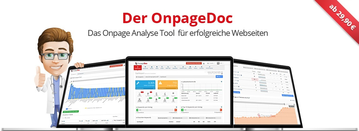 OnpageDoc – Onpage Analyse Tool