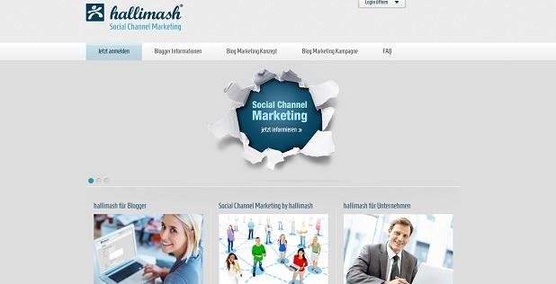 Hallimash – Geld verdienen mit  Blog-Marketing